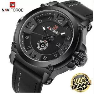 8bc7fd04559 Relógio masculino naviforce pulseira couro em Brasil   REBAIXAS ...