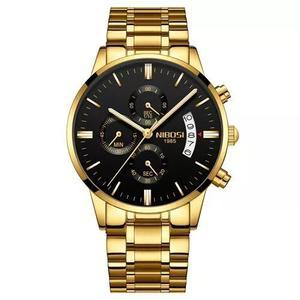 ea0ef98d226 Relógio masculino nibosi 2309-1-2 original 30 metros