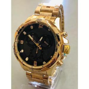 Relógio masculino robusto grande pesado barato