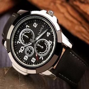Relógio original yazole masculino barato + brinde caixa