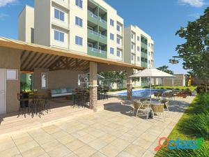 Apartamentos com 02 quartos na Lagoa Redonda