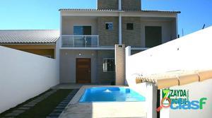 Casa de praia com piscina em barra de são joão/rio das ostras.