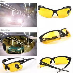 Culos esportivo lentes amarelas visão noturna ciclista 69e384109a