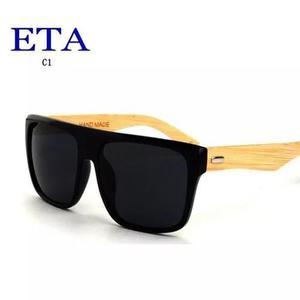 e25c0f1e2a23e Culos madeira masculino + case polarizado proteção uv400