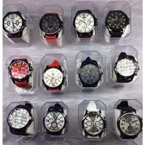 4044122e440 Kit com 10 relógios masculino borracha+caixa+brinde atacado