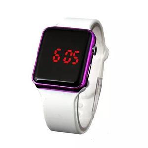 Relógio de pulso digital led esportivo f