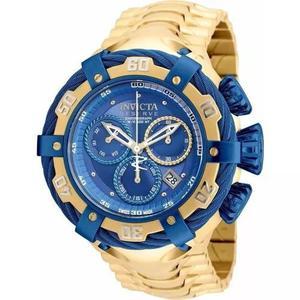 Relógio invicta 21361 thunderbolt original azul masculino