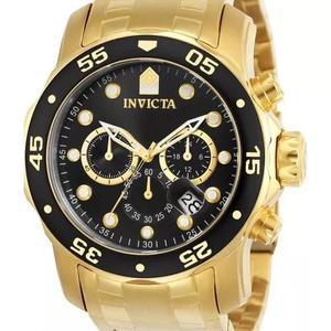 9ba86957335 Relógio invicta pro diver 0072 - original dourado em Brasil ...