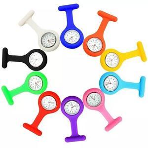 Relógio lapela silicone enfermeiras pronta entrega