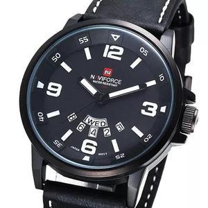 d5605510e5b Relógio Masculino Esportivo Militar Naviforce Couro