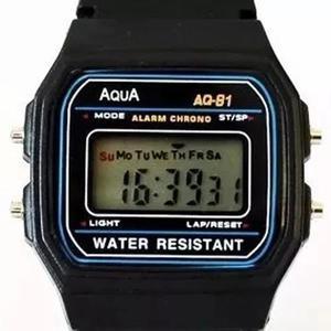 d51206055e0 Relogio aqua aq-91 retrô aprova dagua oferta c1 frete em Brasil ...