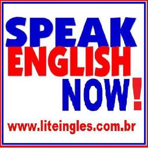 Curso de prático inglês com conversação