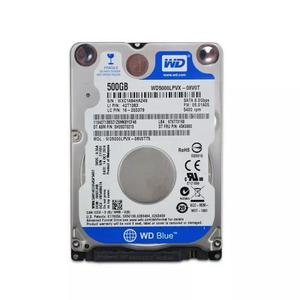 Hd notebook 500gb sata ill western digital 5400 rpm slim 2.5
