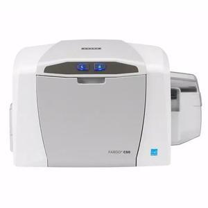 Impressora de crachá fargo c50 * para cartões de pvc