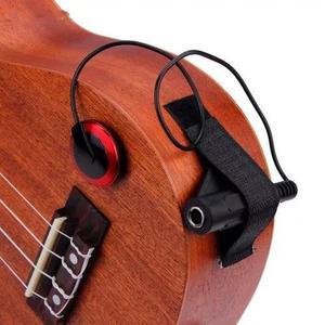 Captador piezo contato para violão cavaco kit completo