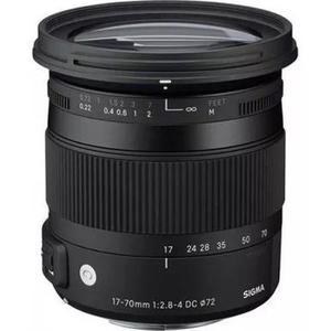Lente sigma 17-70mm f / 2.8-4 macro hsm para canon
