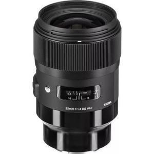 Lente sigma 35mm f / 1.4 art dg hsm para câmeras sony