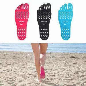Palmilha adesiva nakefit protetor sola pé praia foot pad