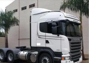 Scania 440 2013 cavalo mecânico tração 6x4 branca