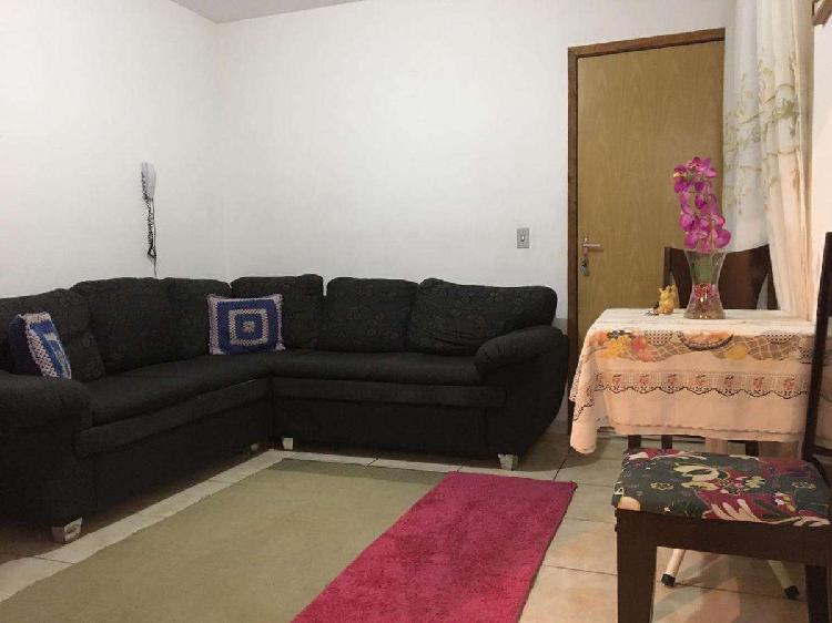 Apartamento, santa terezinha, 2 quartos, 1 vaga