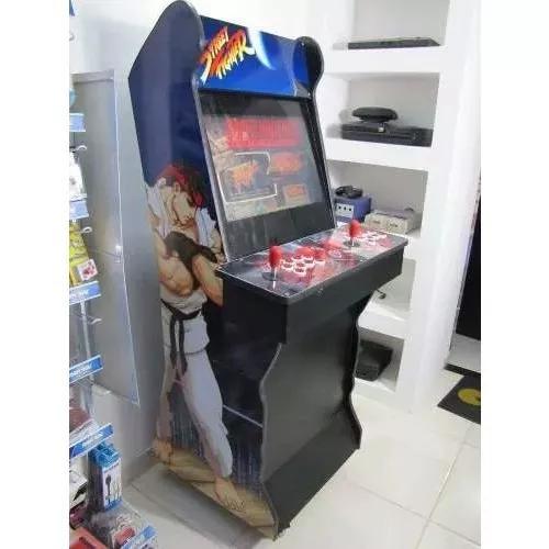 Arcade fliperama multijogos personalizado, 19 polegadas
