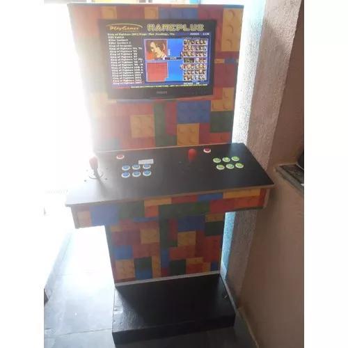 Arcade multijogos fliperama lcd 19' polegadas neogeo capcom