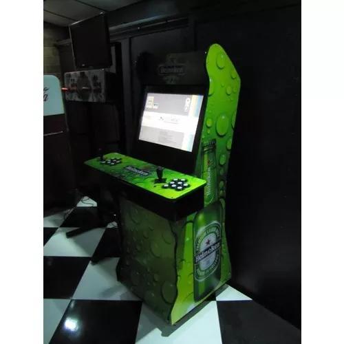Fliperama arcade tela 19lcd pacorte frete gratis sudeste