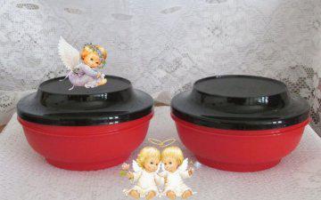 Kit de tigelas tupperware. especial de natal.
