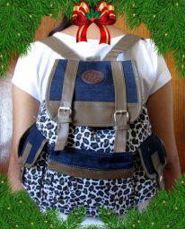 Mochilas femininas. promoção de natal