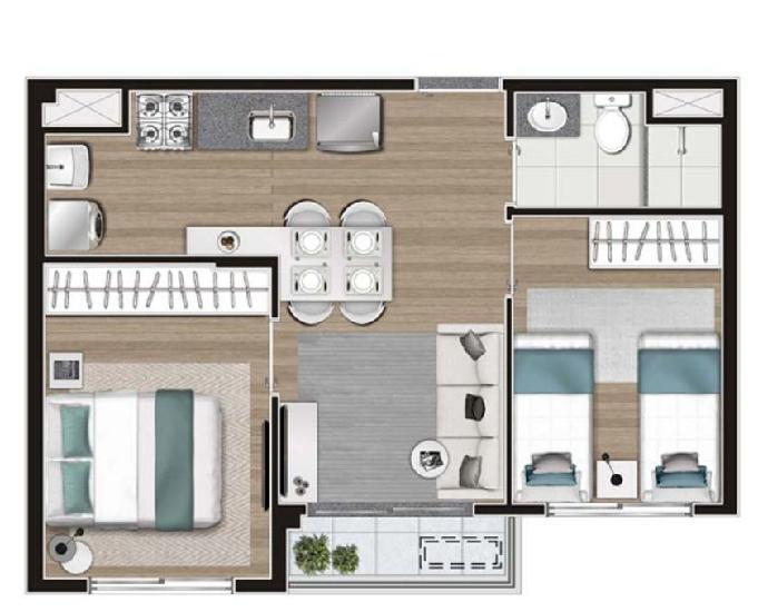 Moment anália franco apartamento em lançamento 2 quartos