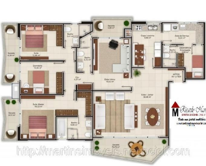 Montegalda apartamento a venda centro criciúma