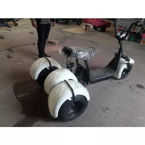 Moto scooter triciclo elétrica tipo harley