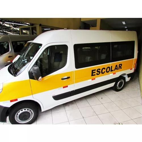 Renault master escolar branca 2019