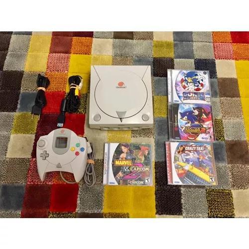 Sega dreamcast (tectoy) c/ 4 jogos