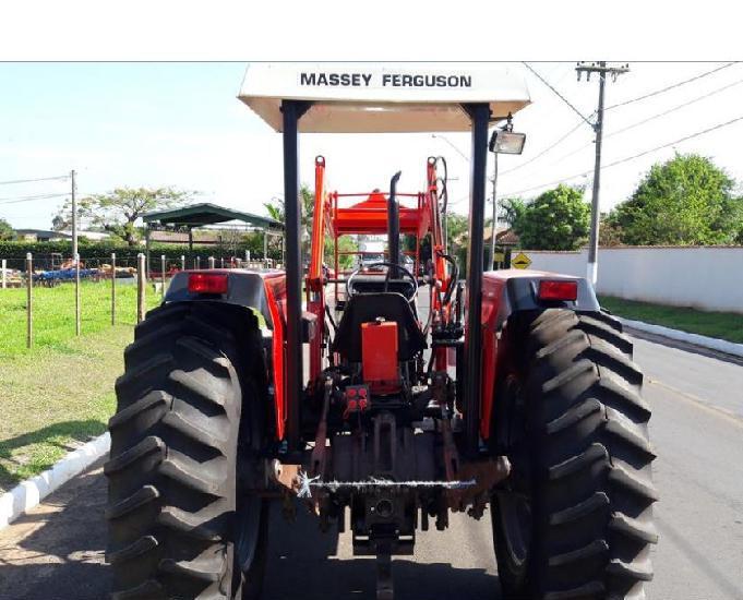 Trator massey ferguson 290 ano 1995 4x4 traçado