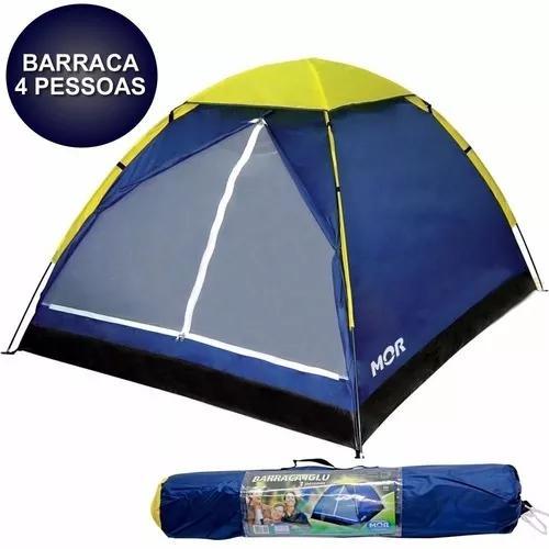 Barraca iglu acampamento praia camping 4 pessoas mor