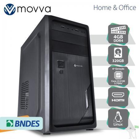Computador hydro intel i3 6100 3.7ghz 6ª ger. mem. 4gb hd