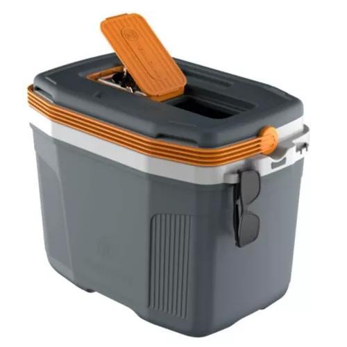 Caixa termica 32 litros termolar suv cinza