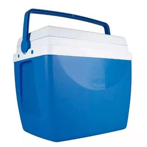 Caixa térmica 34 litros azul mor