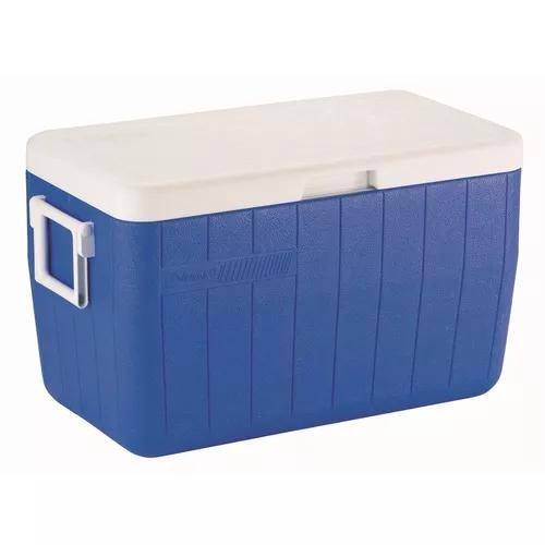 Caixa térmica cooler 48 qt 45,4 l col
