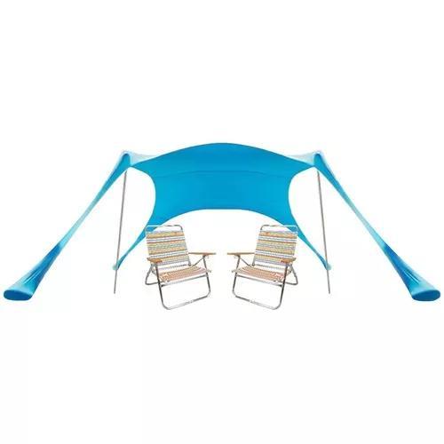 Tenda praia gazebo barraca camping + bolsa de transporte