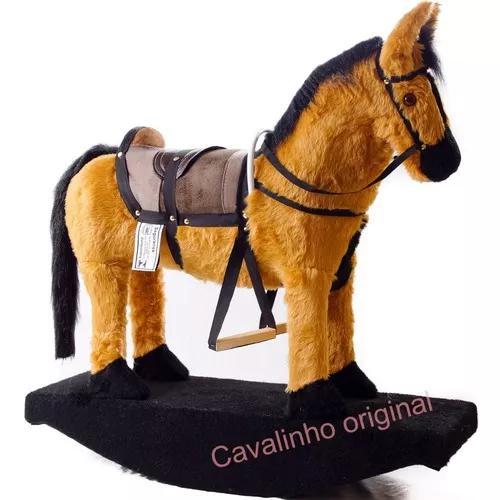 Cavalinho gangorra a show brinquedo maravilhoso + frete grat
