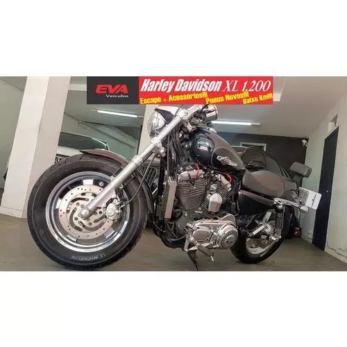 Harley sportster xl 1.200 custom 2012 baixo km,