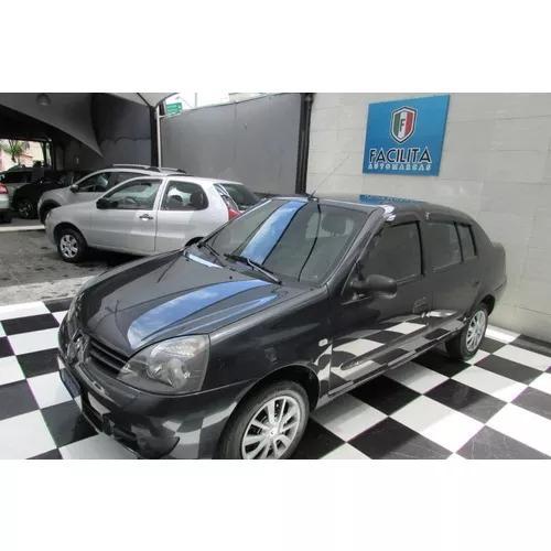 Renault clio sedan 1.6 16v expression hi-flex 4p