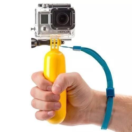 Bastão flutuante flutuador camera eken gopro sjcam boia