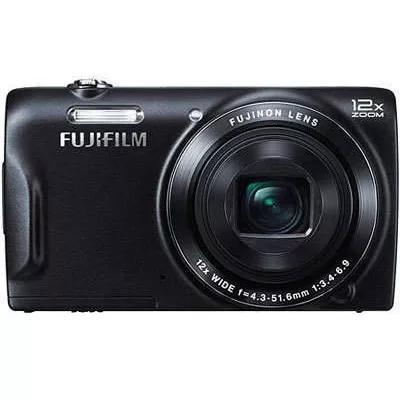 Camera fotografica fujifilm finepix t550 preta 16mp,