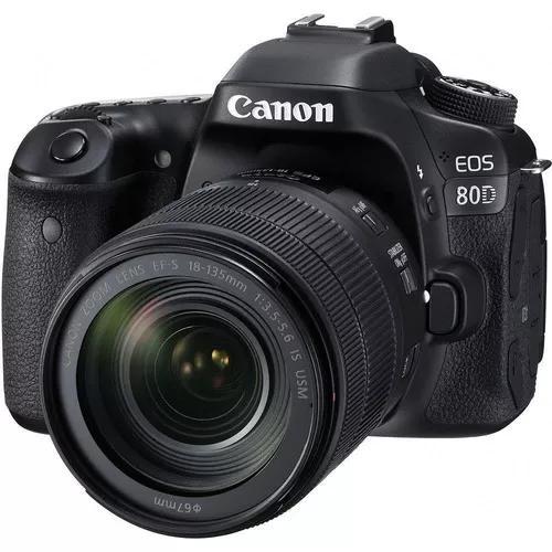Canon eos 80d c/ 18-135mm + 50mm pronta entrega