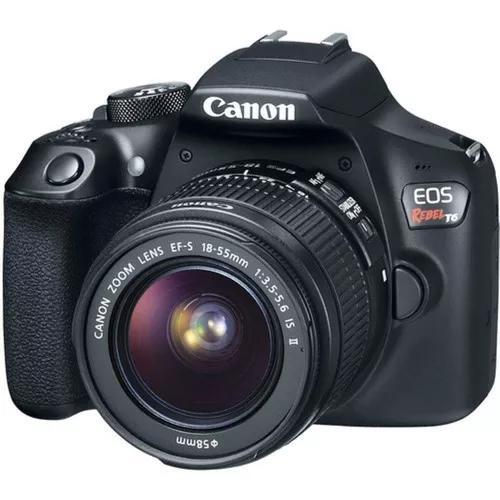 Canon t6 com lente 18-55+ lente 50mm 1.8 original