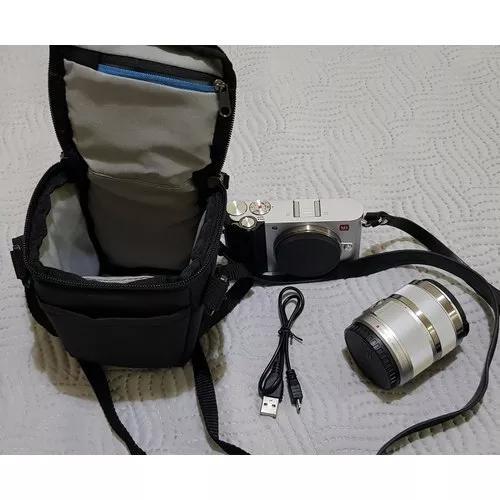 Câmera 4k mirrorless xiaomi yi m1