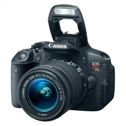 Câmera canon eos t5i kit 18-55mm stm